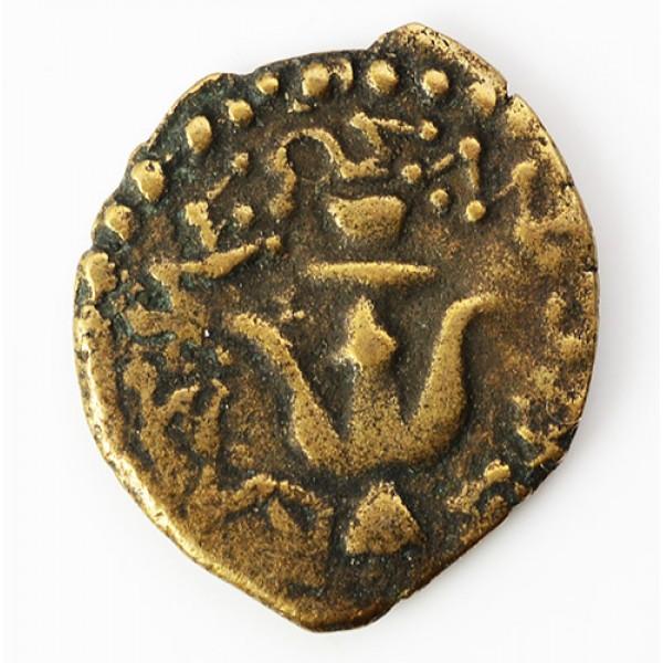 Ultra High Grade Ancient Biblical Widow's Mite Coin circa 103-76 B.C.