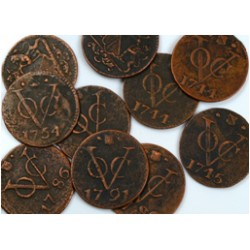 V.O.C. (Dutch East Indies) Coins