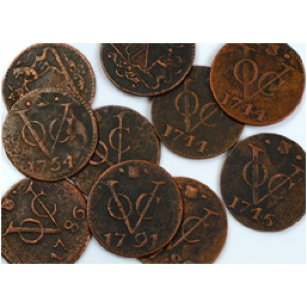 VOC Coins - Dutch East India Company