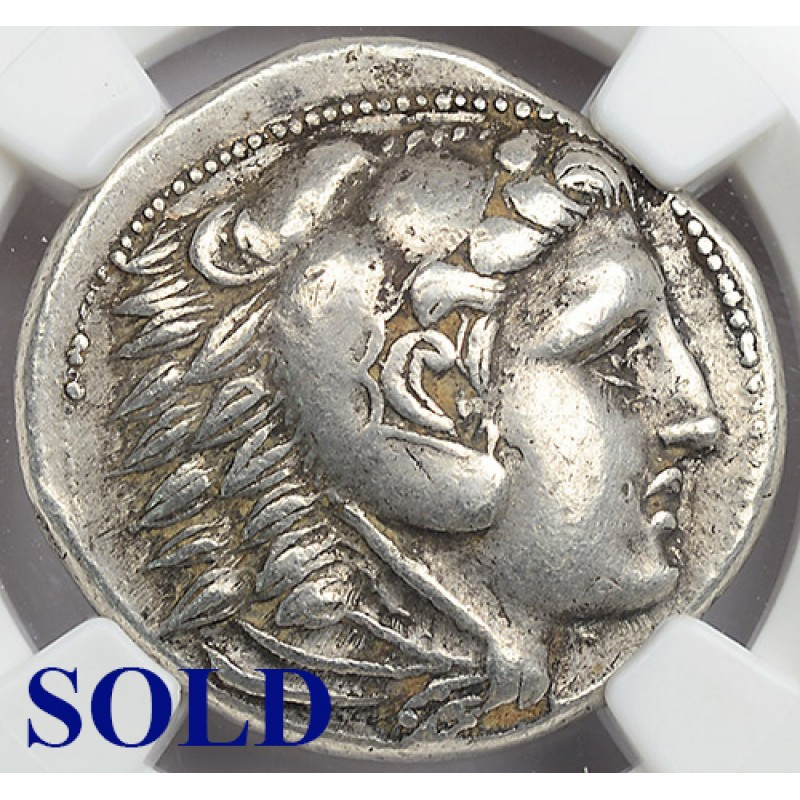 NGC XF Authentic Ancient Greek Silver Tetradrachm Coin ...