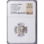 NGC Ch VF Ancient Thessaly Larissa Horse Silver Drachm 400-370 B.C.