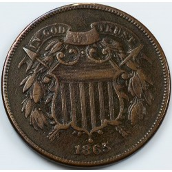 U.S. COINS: 1/2 CENTS - TWO CENTS