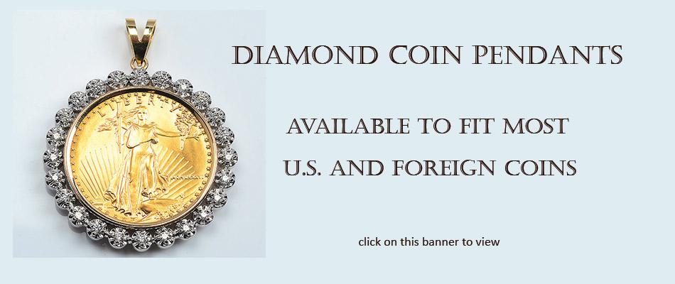 DIAMOND COIN FRAMES
