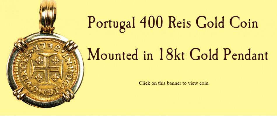 400 Reis Pendant