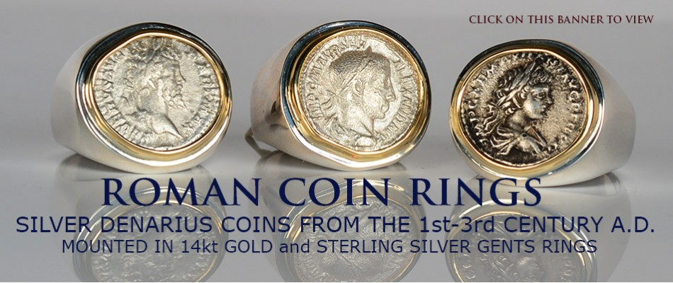 ROMAN COIN RINGS