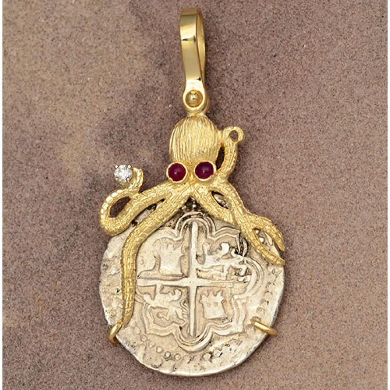 Code 1621 Titanic Cat Cabochon Necklace